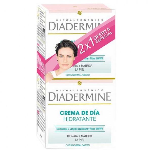 Diadermine crema de dia hidratante matificante 2x1